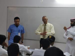 كلية العلوم الصحية بالقنفذة تقيمالدورة التدريبية الثانية للعام الدراسي الحالي