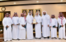 The UQU President Honors the Officials in Charge of the Department of Domestic Hajj Affairs