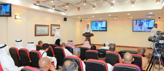 معهد أبحاث الحج بجامعة أم القرى يستضيف 25 وسيلة إعلامية عالمية
