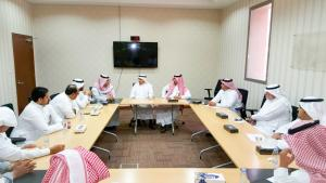 Delegation from Organizing Committee of Hajj and Umrah Forum Visits Tiba University