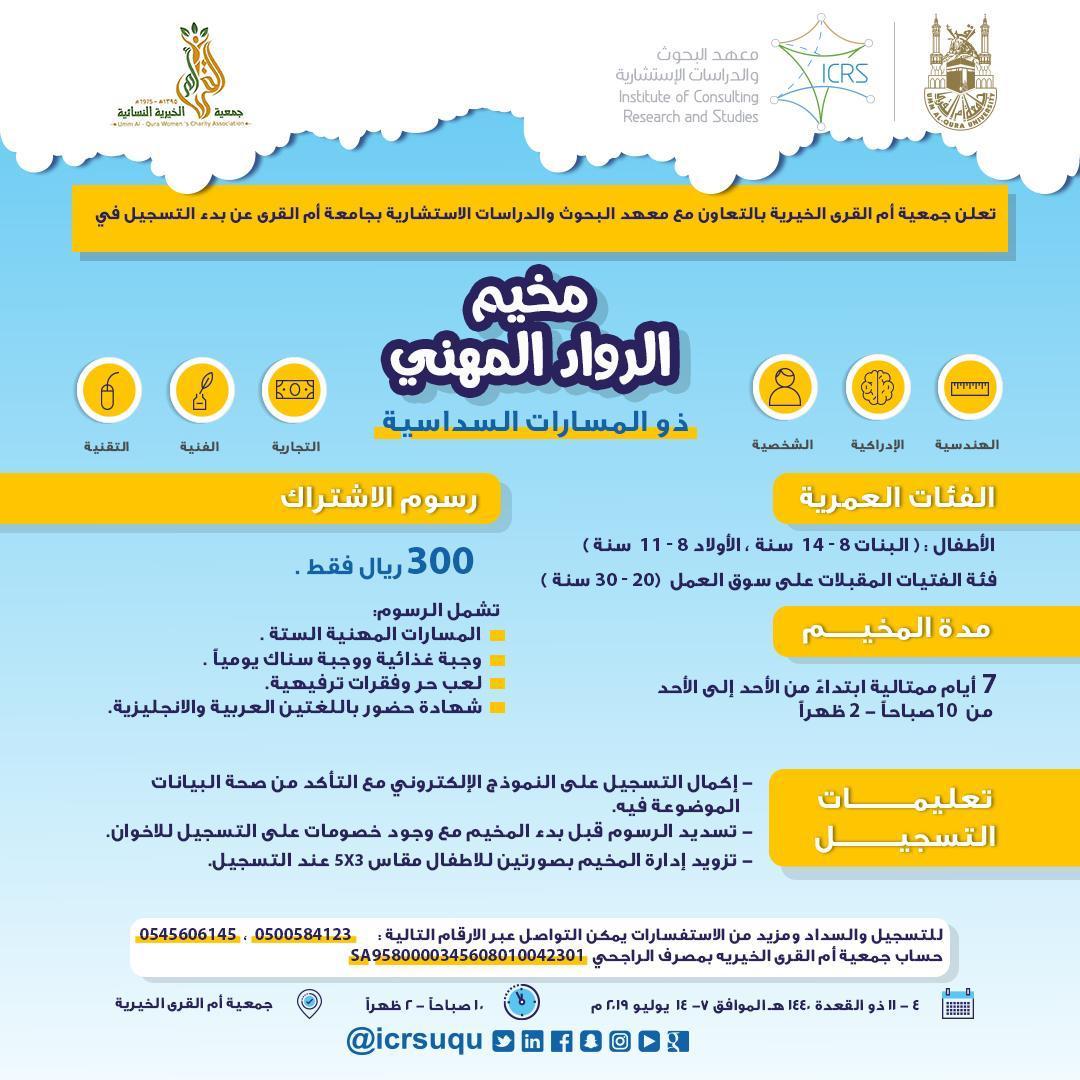 Al-Ruwwad Professional Camp