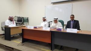 مناقشة رسالة دكتوراه عن الخليج العربي وعلاقاته مع شبه القارة الهندية