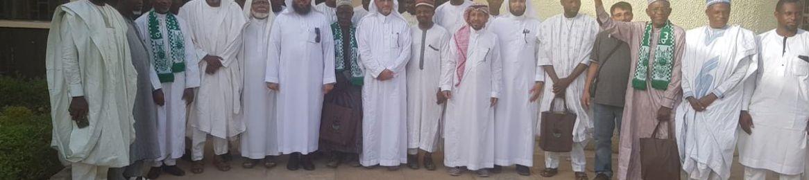 فريق معهد اللغة العربية يقيم الدورة الثانية لمسلمي نيجيريا بجامعة أحمد بيللو