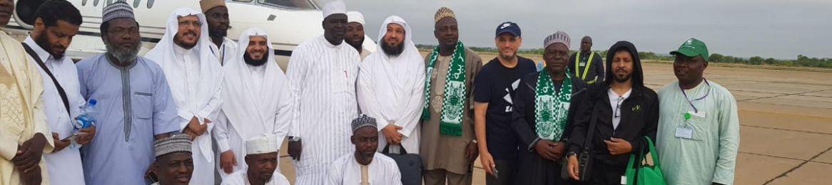 عودة فريق المعهد من نيجيريا بعد تنفيذ عدد من البرامج والدورات المهمة