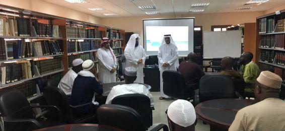 معهد تعليم اللغة العربية ينظم دورة (مهارات البحث العلمي اللغوي) لأساتذة من مالي