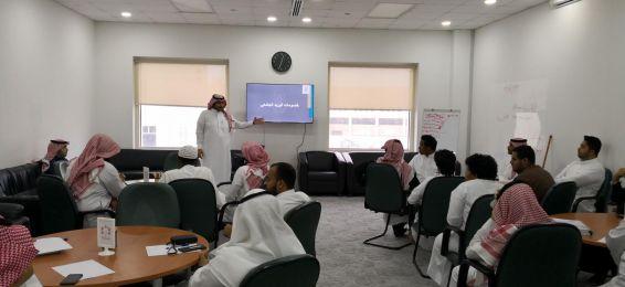 عمادة تقنية المعلومات تعقد دورات تدريبية لنشر الوعي التقني لطلاب الجامعة