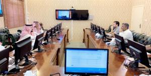 تقنية المعلومات تعقد ورشة (الخدمات الإلكترونية والتحكم بالموقع الإلكتروني) لأعضاء هيئة التدريس بالليث