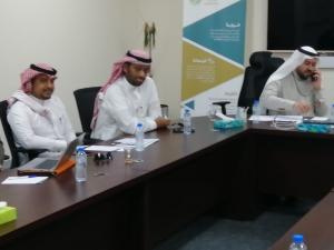 تقنية المعلومات والتطوير الجامعي تناقشان نظام الجودة الإلكترونية (قاس QAAS)