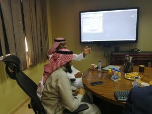 وفد عمادة تقنية المعلومات بالجامعة الإسلامية يزور تقنية المعلومات بأم القرى لتبادل الخبرات