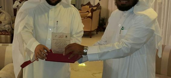 Arabic Language Department Graced by College Dean Dr. Tawfiq El-Sherif to Honor the Department's Members