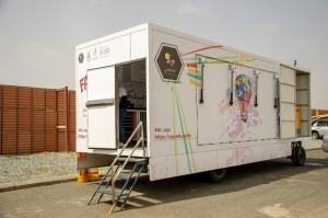 Jamoum University College (Male Section) Hosts the Mobile Fabrication Lab