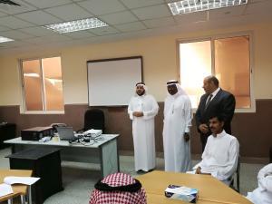 الكلية الجامعية بالجموم تنظم دورة في صياغة الخطابات والتحرير لمنسوبي شرطة محافظة الجموم