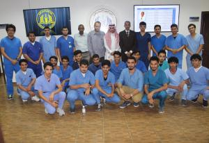 Health Sciences College's Public Health Department Holds (Basics of Fighting Infection) Course