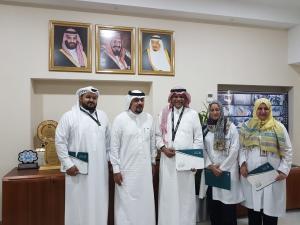 وكيل كلية العلوم الصحية بالليث للمستشفيات يزور مستشفى الملك فهد العام بجدة