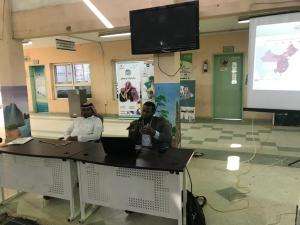 The College of Health Sciences in Al-Leith Arranges an Event about Coronavirus for School Students in Al-Qunfudhah Governorate