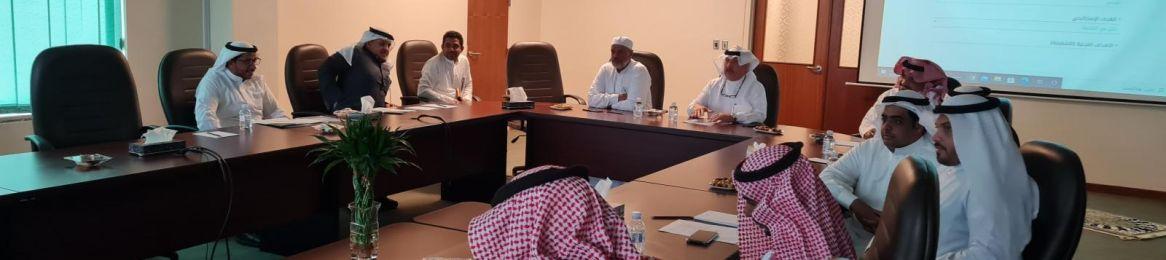 عميد شؤون المكتبات يلتقي برؤساء الأقسام في الاجتماع الدوري الأول