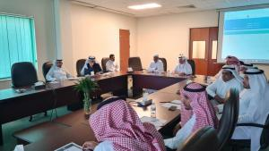 The Dean of Library Affairs Meets the Heads of the Departments in the First Periodical Meeting