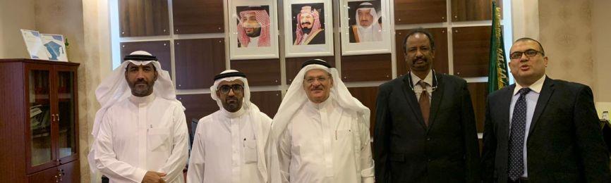 Experts from Umm Al-Qura University Visit Al-Balad Al-Amin School for Gifted Students in Makkah