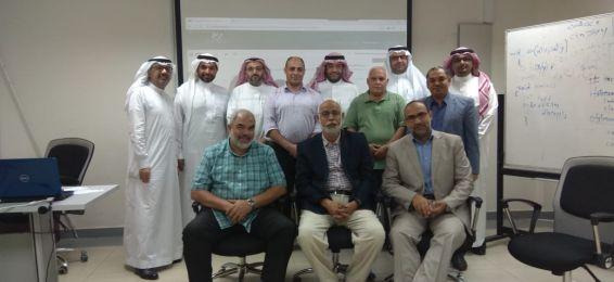 عقد ورشة عمل عن الاختبارات الإلكترونية على نظام البلاك بورد بكلية المجتمع