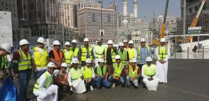Students from Makkah Community College Visit the General Presidency for the Affairs of the Two Holy Mosques