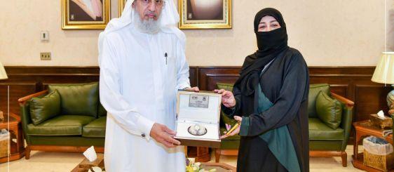 General Supervisor of Umm Al-Qura Digital Transformation Wins the Middle East Excellence Award