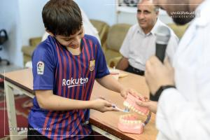 جامعة أم القرى تفحص أسنان 2300 طالب بمدارس مكة