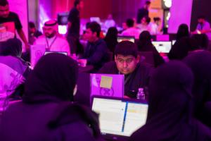 طلبة الحاسب الآلي يستعرضون قدراتهم البرامجية لصالح مشروع (نيوم)
