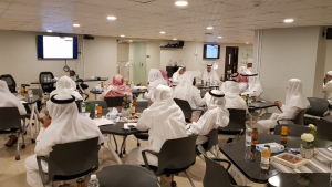 """The Deanship of Scientific Research Participates in the """"Makkan Encyclopedia"""" Workshop"""