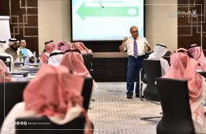 """The Start of the Second Stage of the """"Professional Practitioner"""" Program in Umm Al-Qura University"""
