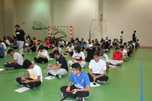 580 Students Undergo the Admission Examinations at the Physical Education Department