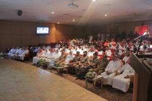 The Director of Makkah Civil Defense Launches the Event of the International Volunteer Day in the Presence of UQU President