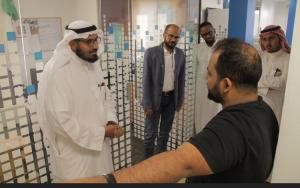المركز الإعلامي يبحث أوجه التعاون وتبادل الخبرات مع إذاعة ألف ألف بجدة