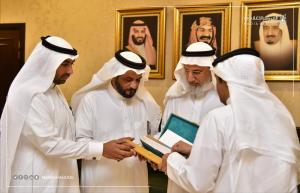 His Excellency the UQU President Meets with the Team Participating in the University Documentary Guide
