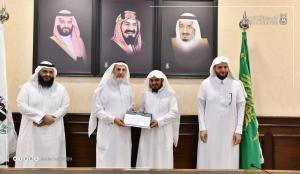 The President of Umm Al-Qura University Honors Twenty Academics for Their Scientific Promotions
