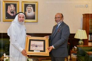 UQU President Discusses Aspects of Cooperation with Bangladeshi Universities