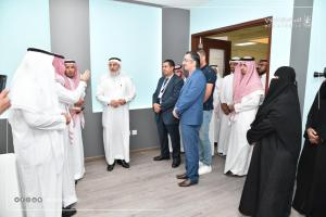 Inaugurating the Students' Labs at the College of Designs, Umm Al-Qura University