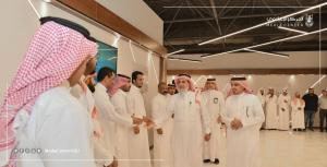 Providing a Positive Environment for a Happy Employee: The UQU President Inspects the Development Work of the Project Administrative Environment