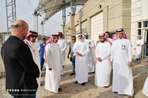 The President of Umm Al-Qura University Checks on the Preparations for the Graduation Ceremony of Class No. (68)