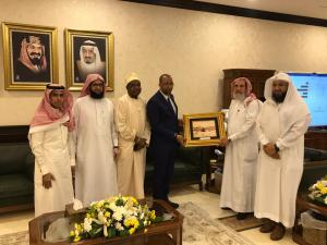 The President of Umm Al-Qura University Discusses Strengthening Cooperation with Tanzanian Universities