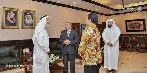 UQU President Discusses Aspects of Cooperation with Indonesian Universities