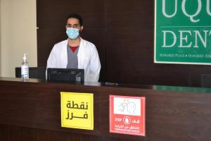 Taking Comprehensive Precautionary Measures: The College of Dentistry Receives Its Students
