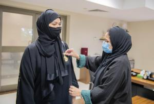 The UQU Vice President for Female Student Affairs Visits the College of Nursing