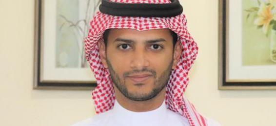 حصول د. عبيد الحضريتي على شهادة تميز في أداء العمل
