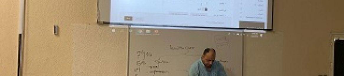 كلية الصحة العامة تنظم ورشة عمل للتدريب على استخدام نظام التعلم الإلكتروني Blackboard