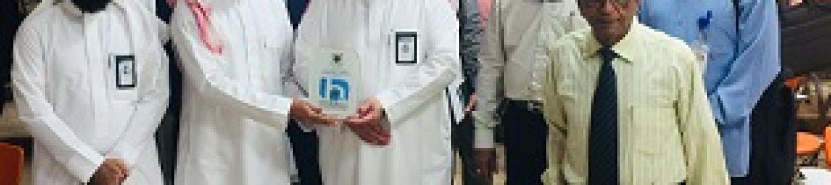 كلية الصحة العامة تنظم محاضرة عن الخدمات التي تقدمها عمادة البحث العلمي