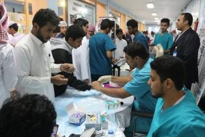 The College of Public Health Organizes an Awareness Campaign on the Risks of Obesity in Partnership with Hira General Hospital