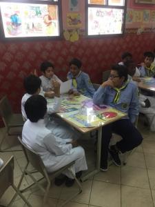 كلية الصحة تقيم دورة (المسعف الصغير) بمدرسة سعيد بن جبير الابتدائية بمكة