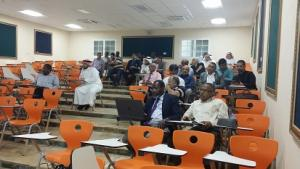 The College of Public Health and Health Informatics Organizes a Lecture about the Services of the Deanship of Library Affairs