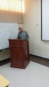 محاضرة علمية بعنوان (السببية في الدراسات الوبائية)