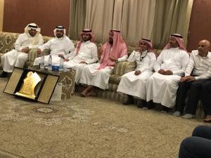 كلية الصحة العامة تقيم حفلاً تكريمياً لعميدها السابق الدكتور وهيب الحربي
